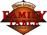 Nana Greer's Family Table Logo